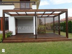 The wooden pergola is a good solution to add beauty to your garden. If you are not ready to spend thousands of dollars for building a cozy pergola then you may devise new strategies of trying out something different so that you can re Diy Pergola, Garage Pergola, Corner Pergola, Pergola Canopy, Pergola Swing, Wooden Pergola, Outdoor Pergola, Pergola Shade, Gazebo