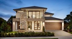 Browse the various home designs and house plans on offer by Carlisle Homes across Melbourne and Victoria. Find great house plans and home designs for your needs. Modern House Plans, Modern House Design, Home Interior Design, Exterior Design, Carlisle Homes, Facade House, House Goals, Architecture Design, Contemporary Architecture