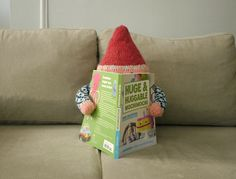 Jumbo Gnome inspired this book, so I guess he deserves the first look.