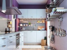 DECORACION FACIL: 10 Ideas para cocinas pequeñas #Small & Lowcost