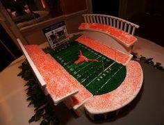 Stadium cake.