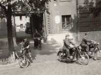 1960, Krisztina körút, 12. kerület Budapest, Motorcycle, Vehicles, Outdoor, Outdoors, Rolling Stock, Motorcycles, Outdoor Living, Garden