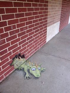 Amazing Chalk Art Collection of David Zinn | B'BER(^_^) $}{@!R