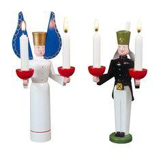 Mini Engel Adventskranz NEU Erzgebirge Volkskunst Original Bergmann Miniatur