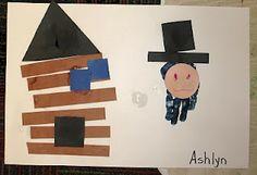 IL- Abraham Lincoln & Log Cabin Craft