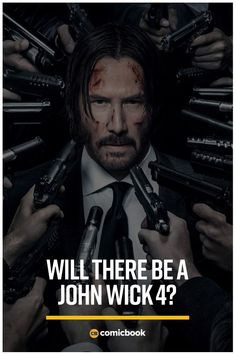 We Know You're Wondering - Will there be a John Wick 4 with Keanu Reeves? Comic News, Sci Fi Thriller, Good Movies To Watch, Millionaire Quotes, Tv Reviews, Chapter 3, Drama Movies, Geek Culture, Keanu Reeves