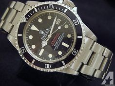 Rolex Double-red Sea-dweller Mark Iv Ref #1665
