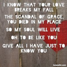 """Scandal of Grace"" by Hillsong United. Woke up with this song in my head!!:D"