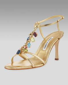Cute sandal from my favorite designer Manolo Blahnik.