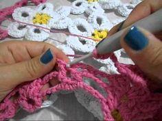 Hilda Eroles - vídeo 12 parte 2 - flor margarida em tapete