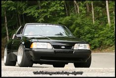 Growing up I loved Foxbody Mustangs, the distinct exhaust note, the owners proclivity to do burn-outs and the fact that they were damn near everywhere made them impossible to miss. Today, despite t… Mustang Cobra, Fox Body Mustang, Ford Mustang Gt, Notchback Mustang, Ford Fox, Hot Wheels, Wide Body Kits, Pony Car, Custom Cars