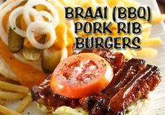 Do you enjoy juicy barbeque pork ribs? Do you enjoy a tasty burger? Then this recipe is perfect for you!