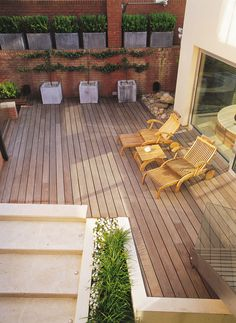 bowles and wyer decking containers garden furniture pots