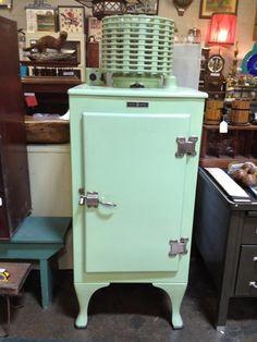 1930's GE Refrigerator.