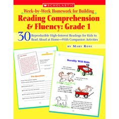 30 Reproducible High-Interest Readings for Kids to Read Aloud at Home, With Companion Activities By Mary Rose Short passages, comprehension activities, and parent tips, perfect reading homework! In th