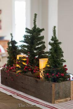 Farmhouse Christmas Decor - MeetourlifeMeetourlife