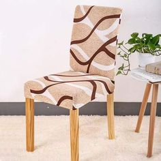 Chair cover Sunny style - Sunailoom Cheap Chair Covers, Stretch Chair Covers, Spandex Chair Covers, Kitchen Table Chairs, Table And Chairs, Dining Chairs, Dining Room, Room Kitchen, Dining Seat Covers