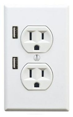 USB port and electrical outlet!
