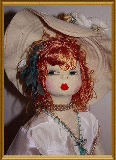 Beautiful Frankowska doll. 1920 Courtesy Ribbonsantiques.