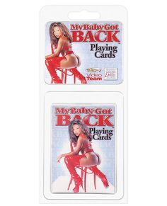 Naked Butt Playing Card Deck Baby Got Back Card Deck Game Poker Party Solitaire