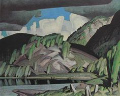 AJ Casson member of The Group of Seven painting Algonquin Park 1943 Group Of Seven Artists, Group Of Seven Paintings, Emily Carr, Canadian Painters, Canadian Artists, Landscape Art, Landscape Paintings, Landscapes, Oil Paintings