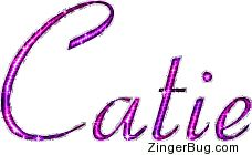 Image from http://www.zingerbug.com/Comments/glitter_graphics/catie_pink_glitter_name_text.gif.