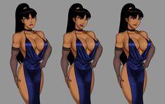 Dc Comics Girls, Dc Comics Art, Comic Books Art, Comic Art, Dc Animated Series, Red Hood Comic, Wonder Woman Pictures, Desenhos Cartoon Network, Female Cartoon