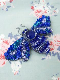 "Beaded brooch butterfly | Купить Брошь ""Мотылек"" в интернет магазине на Ярмарке Мастеров"