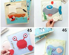Quiet Book Pages - Quiet Book Toddler - Quiet Book - Busy Book - Activity Book - First Book - Educational Games - Felt Quiet Book