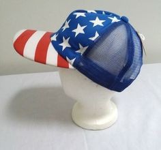 cab5e409 Mens Patriotic Hat Baseball Cap Snapback Flag Design Red White and Blue New  #fashion #