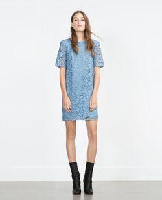 LACE DRESS-View all-Dresses-WOMAN | ZARA Greece