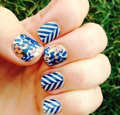Jamberry Nails: Glam & Slatted Herringbone. This is on my to be ordered ASAP list! LOVE it!!!  http://LeslieYoung.JamberryNails.net
