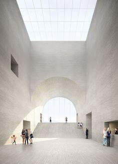 Musée Cantonal des Beaux-Arts - Philipp Schaerer for Barozzi Veiga http://philippschaerer.ch #modern #architecture #simplicity #light #white