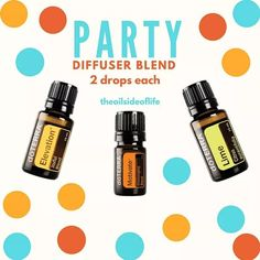Party diffuser blend