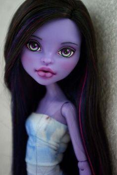 OOAK Monster High Jane Boolittle Repaint by Hyangie