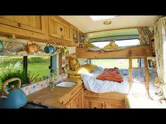 Van Conversion For Family, Van Conversion Interior, Camper Van Conversion Diy, Van Conversion With Bunk Beds, Van Conversion Kitchen, Diy Van Camper, Build A Camper Van, Camper Life, Rv Campers
