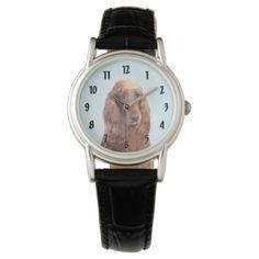 Irish Setter Wrist Watch - dog puppy dogs doggy pup hound love pet best friend