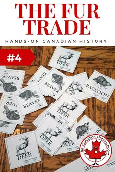 Hands On Canadian History: The Fur Trade Game                                                                                                                                                                                 More