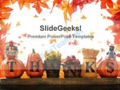 Thanks Giving Nature PowerPoint Template 0610   #PowerPoint #Templates #Themes #Background