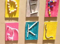 """Reggio Emilia: The Alphabet"" 8 Great ideas from a Reggio Inspired School!"