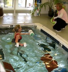 Aquatic physical therapy benefits based on research is helpful to reduce pain and improve strength and balance in people with osteoarthritis, sciatica, total knee replacements and total hip replacements