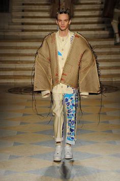 Bethany Williams Fall/Winter 2016/17 - London Collections: MEN - Male Fashion Trends