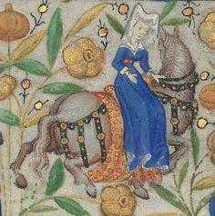 Horae ad usum romanum.  Date d'édition :  1401-1500  Latin 1156B  Folio 25r