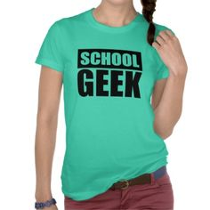 SCHOOL GEEK SHIRT
