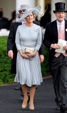 Sophie and Countess Of Wessex - Royal Ascot 2012 - Day 2