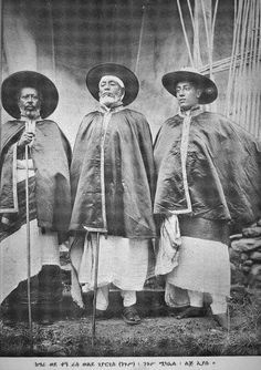 Historical Photot:- Ras Weldegiorgis, Negus Mekeal and Lij Iyasu