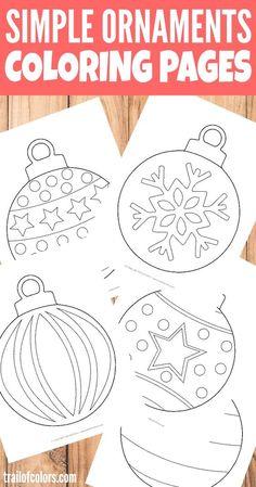 This Christmas Theme Tracing Fun Printable Set Is Great For Tot