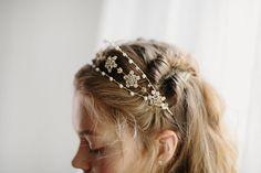 Wedding hair accessory bridal crown Noble Anne no 2068