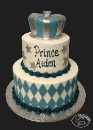 boys prince birthday cake - Hope you see this Erin! Prince Birthday Theme, Boy Birthday Parties, Baby Birthday, Birthday Cakes, Birthday Ideas, Prince Cake, Mini Pastries, Royal Theme, Royal Party
