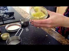 DIY Lavender Vanilla Sugar Scrub